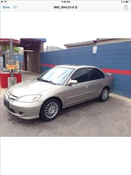 2005 Honda Civic for sale in Dallas TX