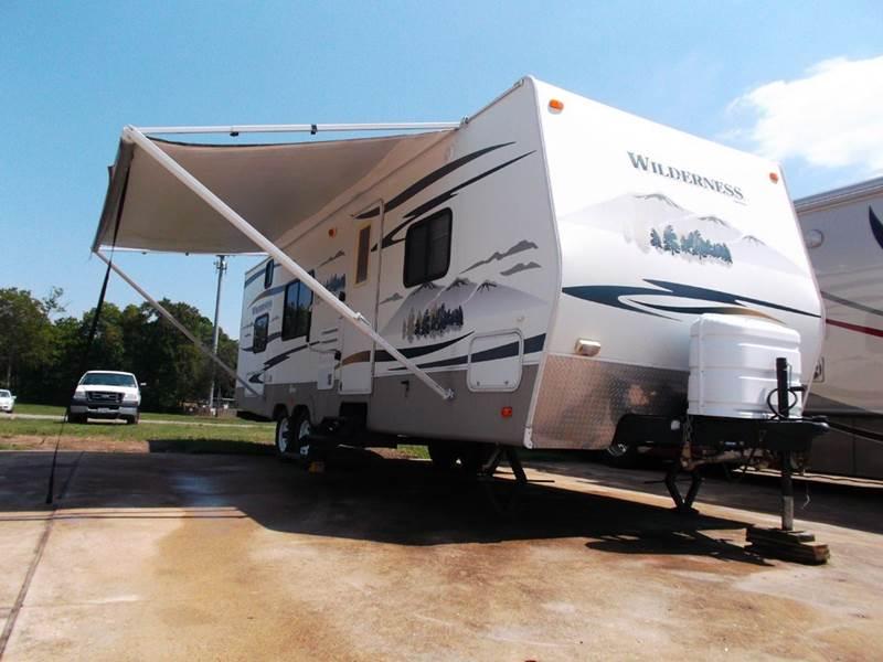 2008 Fleetwood Wilderness 260bhs Travel Trailer In Houston