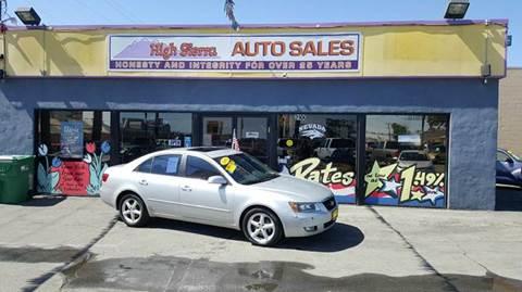 2006 Hyundai Sonata for sale in Reno, NV