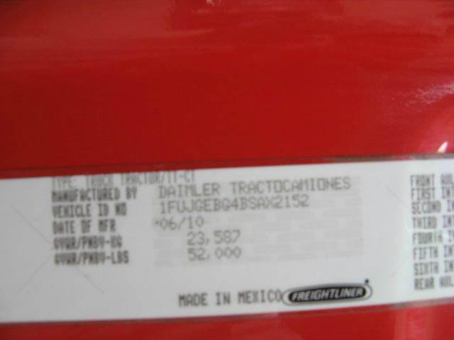 2011 Freightliner Cascadia  - Atkinson NE