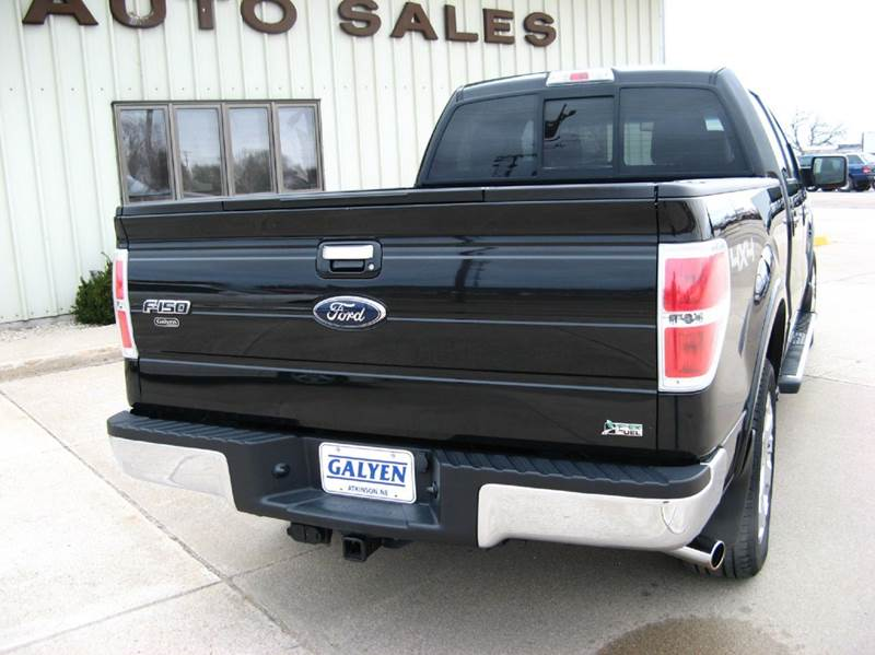 2010 Ford F-150 4x4 Lariat 4dr SuperCrew Styleside 5.5 ft. SB - Atkinson NE