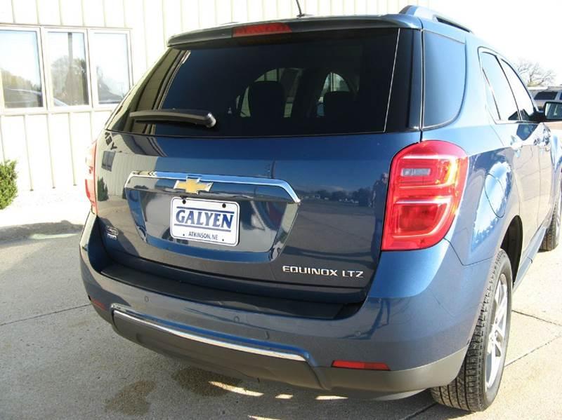 2016 Chevrolet Equinox AWD LTZ 4dr SUV - Atkinson NE