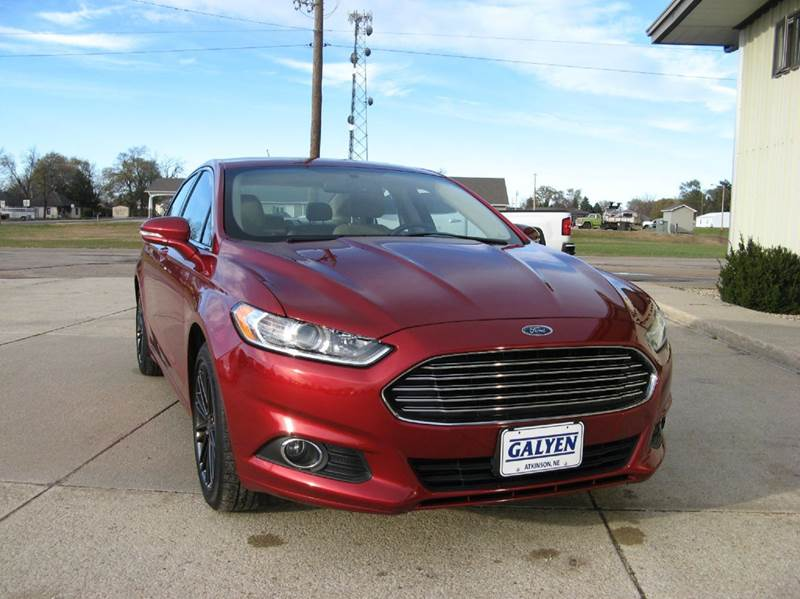 2014 Ford Fusion SE 4dr Sedan - Atkinson NE