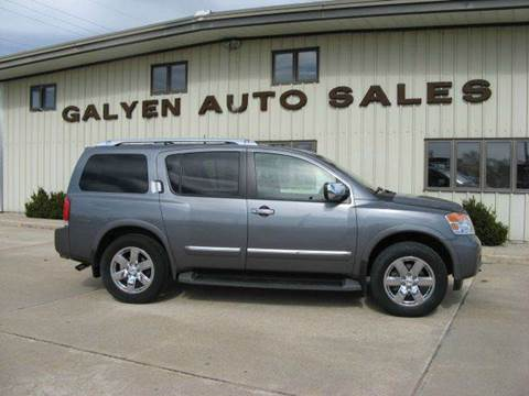 2014 Nissan Armada for sale in Atkinson, NE