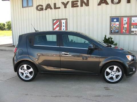 2014 Chevrolet Sonic for sale in Atkinson, NE