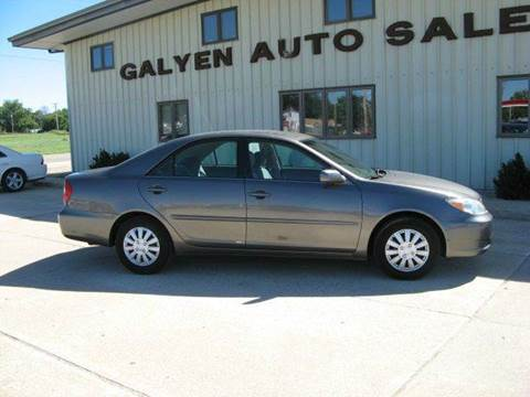 2002 Toyota Camry for sale in Atkinson, NE