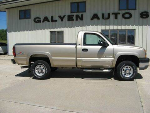 2004 Chevrolet Silverado 2500HD for sale in Atkinson, NE