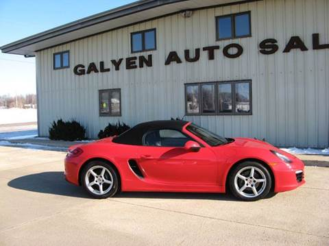 2015 Porsche Boxster for sale in Atkinson, NE