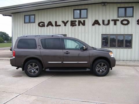 2014 Nissan Armada for sale in Atkinson, NE