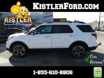 2014 Ford Explorer For Sale Toledo Oh Carsforsale Com