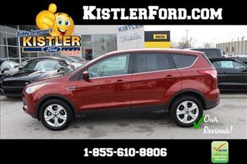 2015 Ford Escape For Sale Toledo Oh Carsforsale Com