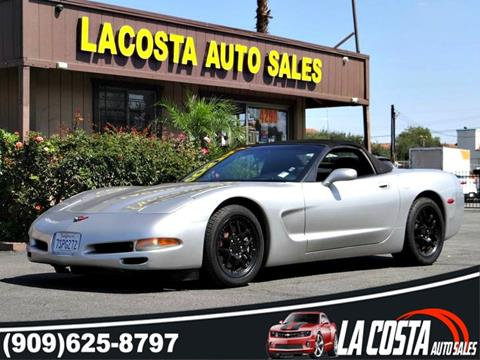 2004 Chevrolet Corvette for sale in Montclair, CA