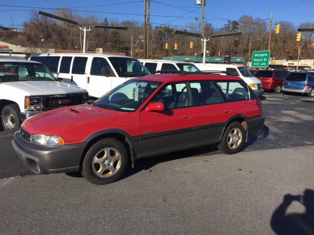 1998 subaru legacy outback awd 4dr wagon in asheville nc for Wheel city motors asheville nc