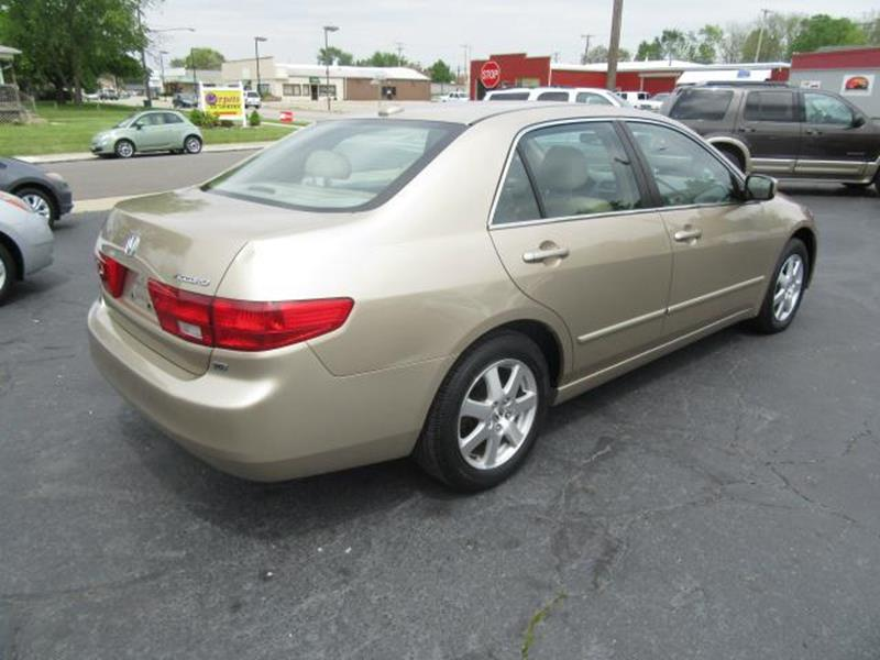 2005 Honda Accord EX V-6 4dr Sedan - Urbana OH