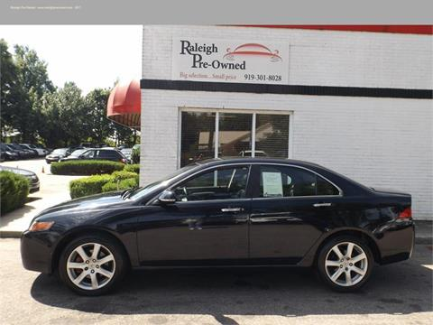 2004 Acura TSX for sale in Raleigh, NC