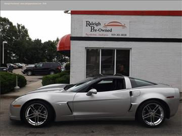 Used Chevrolet Corvette For Sale Raleigh Nc