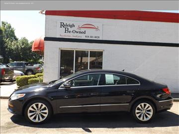 2012 Volkswagen CC for sale in Raleigh, NC