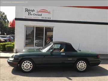 1993 Alfa Romeo Spider for sale in Raleigh, NC