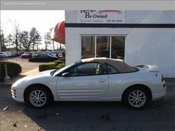 2002 Mitsubishi Eclipse Spyder for sale in Raleigh, NC