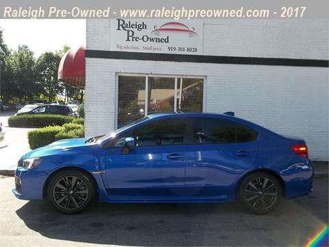 2015 Subaru WRX for sale in Raleigh, NC