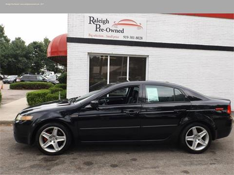 2005 acura tl for sale in raleigh nc. Black Bedroom Furniture Sets. Home Design Ideas