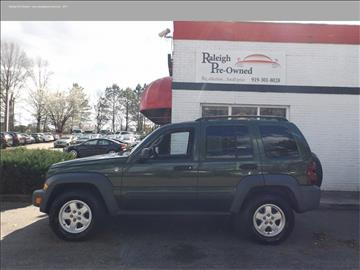 2006 Jeep Liberty for sale in Raleigh, NC
