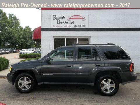 2004 Chevrolet TrailBlazer for sale in Raleigh, NC