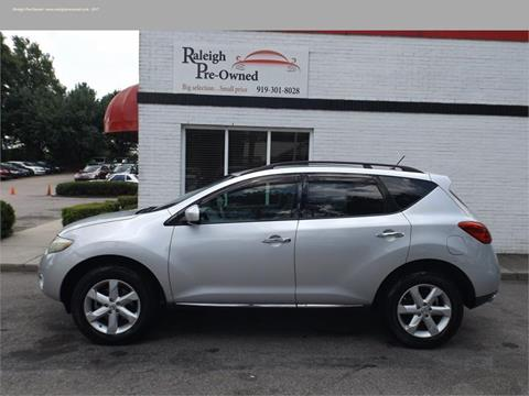 2009 Nissan Murano for sale in Raleigh, NC