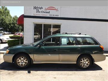 2003 Subaru Outback for sale in Raleigh, NC