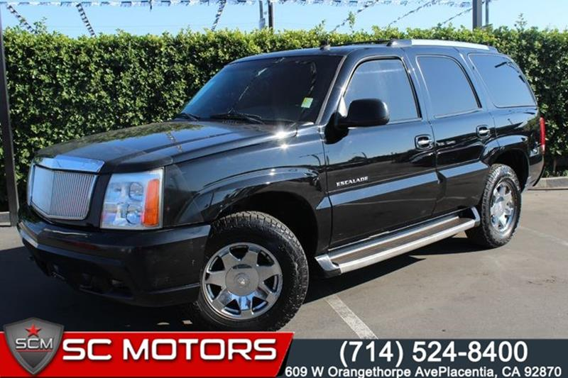 used 2003 cadillac escalade for sale in california. Black Bedroom Furniture Sets. Home Design Ideas