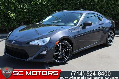 2016 Scion FR-S for sale in Placentia, CA