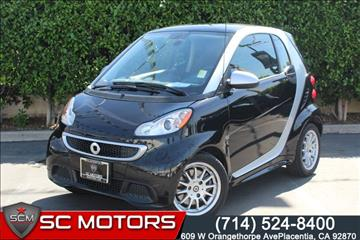 2013 Smart fortwo for sale in Placentia, CA