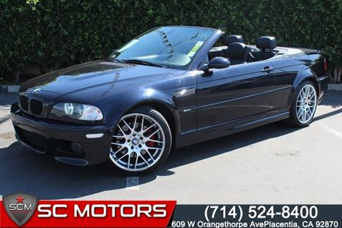 2006 BMW M3 for sale in Placentia, CA