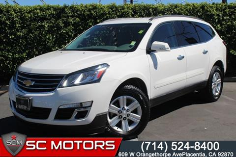 2013 Chevrolet Traverse for sale in Placentia, CA