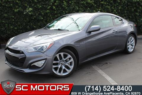 2014 Hyundai Genesis Coupe for sale in Placentia, CA
