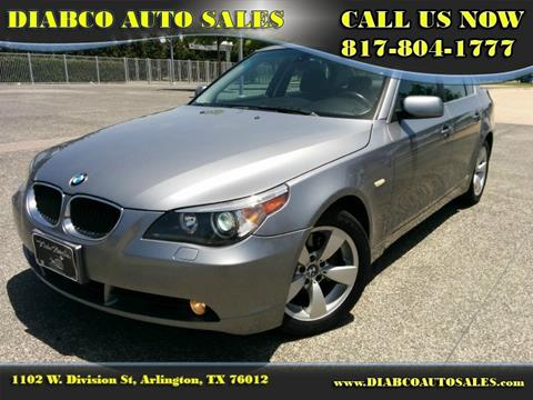 2006 BMW 5 Series for sale in Arlington TX