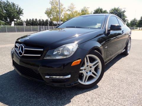 2012 Mercedes-Benz C-Class for sale in Arlington TX