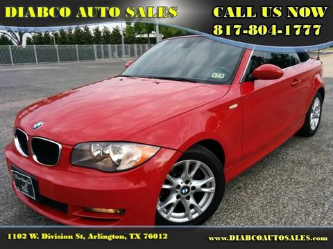 2008 BMW 1 Series for sale in Arlington, TX
