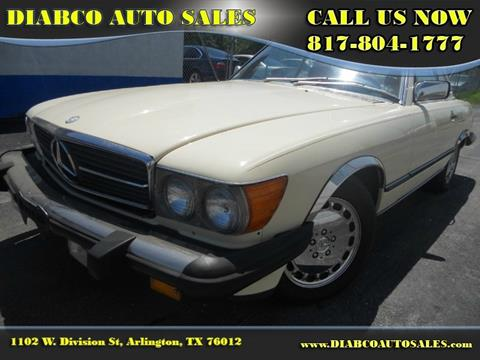 1988 Mercedes-Benz 560-Class for sale in Arlington, TX