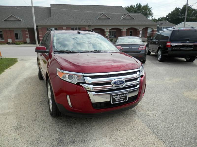 2013 Ford Edge Limited 4dr Crossover - Edgewood IA