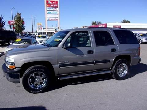 2003 Chevrolet Tahoe for sale in Reno, NV