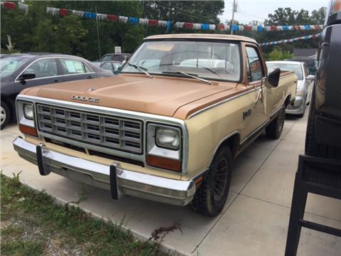 1985 Dodge RAM 100 for sale in Dalton, GA