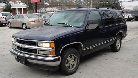 1996 Chevrolet Tahoe for sale in Dalton, GA