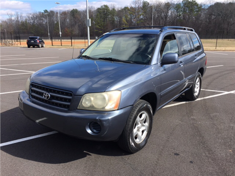 2003 Toyota Highlander for sale in Dalton, GA
