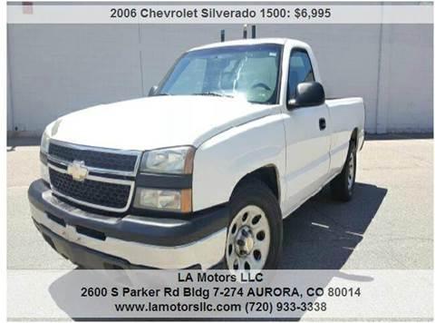 2006 Chevrolet Silverado 1500 for sale in Aurora, CO