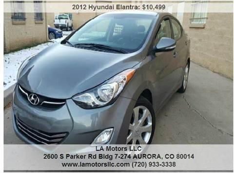 2012 Hyundai Elantra for sale in Aurora, CO