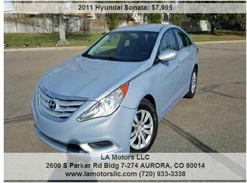 2011 Hyundai Sonata for sale in Aurora, CO