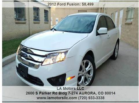 2012 Ford Fusion for sale in Aurora, CO