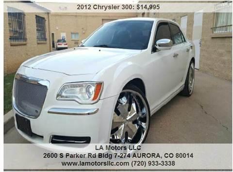 2012 Chrysler 300 for sale in Aurora, CO