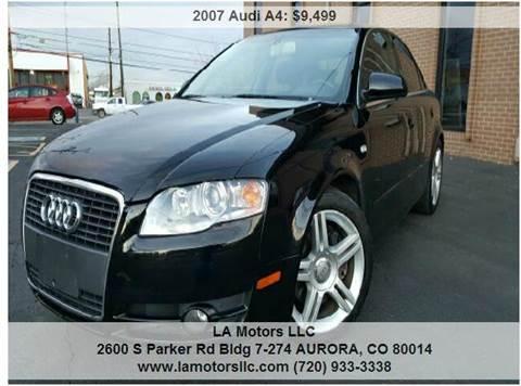 2007 Audi A4 for sale in Aurora, CO